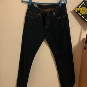 Dark wash Levi's jean